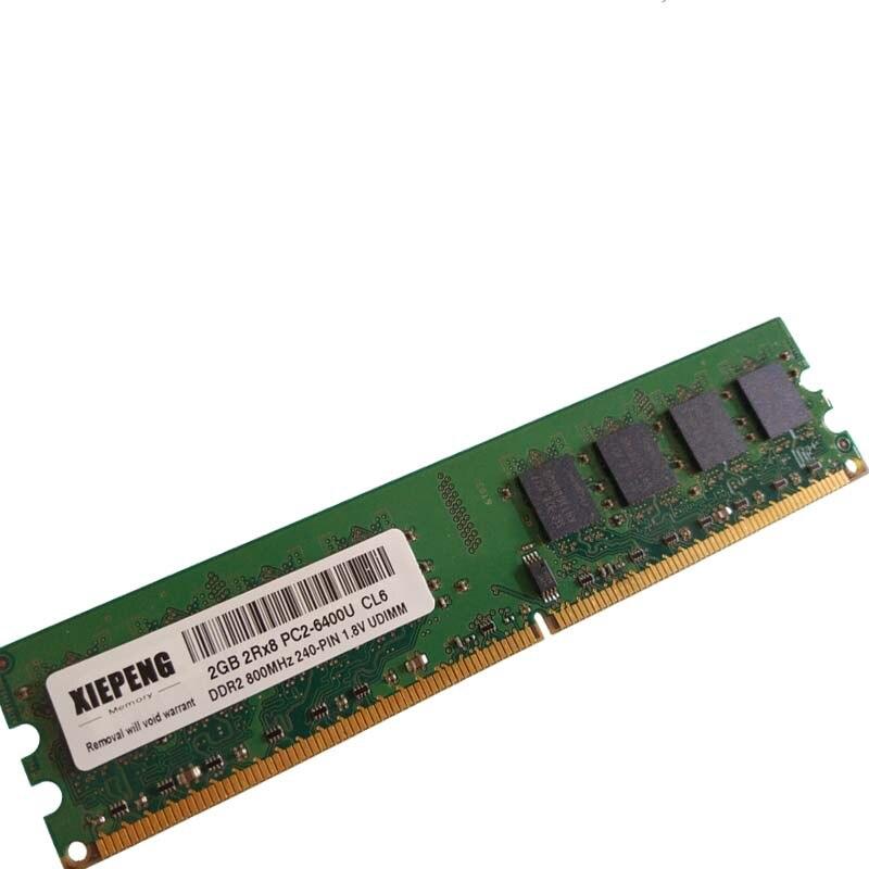 Memoria 2GB DDR2 800MHz 4GB 2Rx8 PC2-6400U 4G PC2 5300 no ECC...