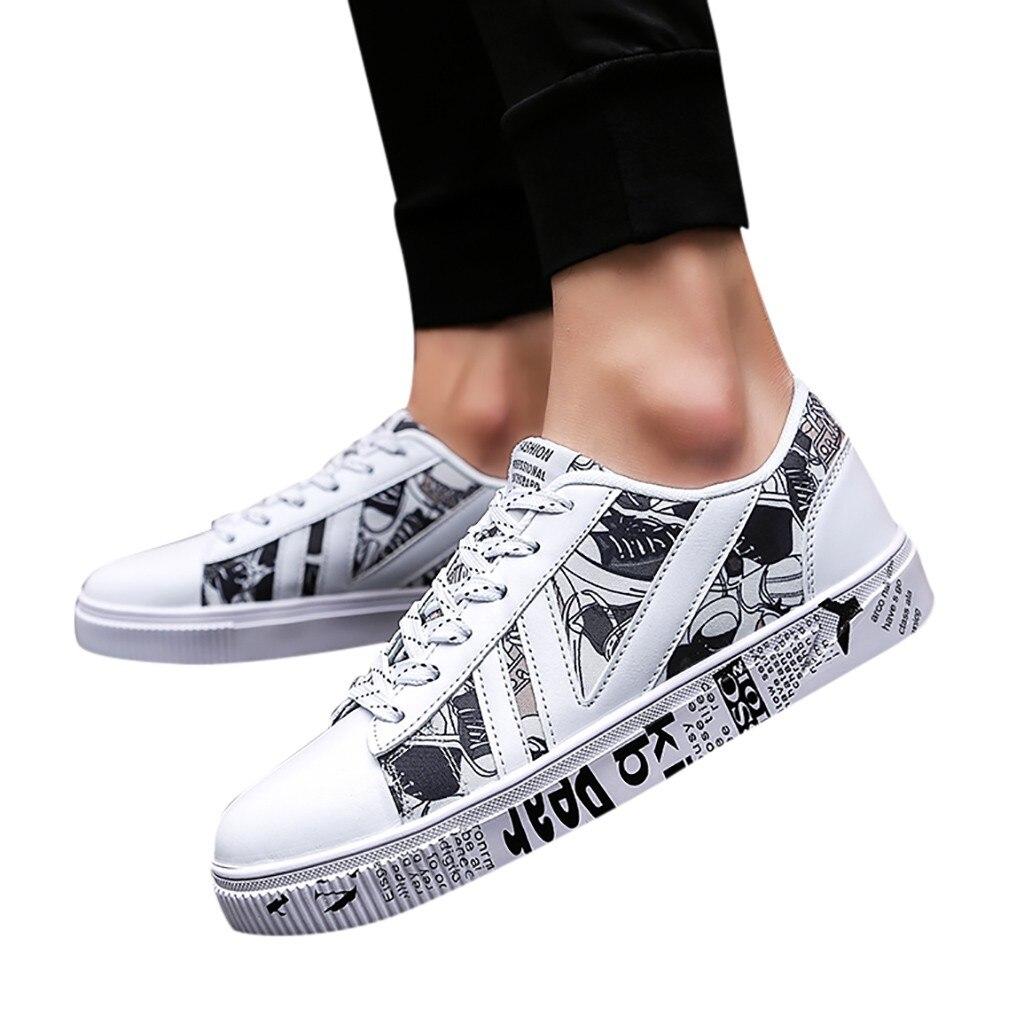 CHAMSGEND, gran oferta, 2019, nuevos zapatos de moda informal para hombre con zapatos de corte bajo, moda urbana, zapatos cómodos de moda