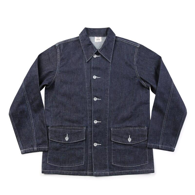 Chaqueta de fatiga bronson, diseño original CCC, chaqueta vaquera vintage de 11,5 oz