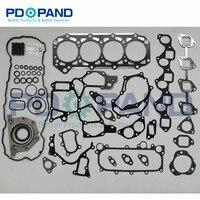 ZD30 ZD30DDTI Engine Overhaul Gasket Kit for Nissan Patrol GR Y61/Terrano R20/Urban E25/Renault Mascott /Opel Movano 3.0 2953cc