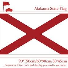90*150cm 60*90cm Flag of Alabama State of USA 30*45cm Car Flag