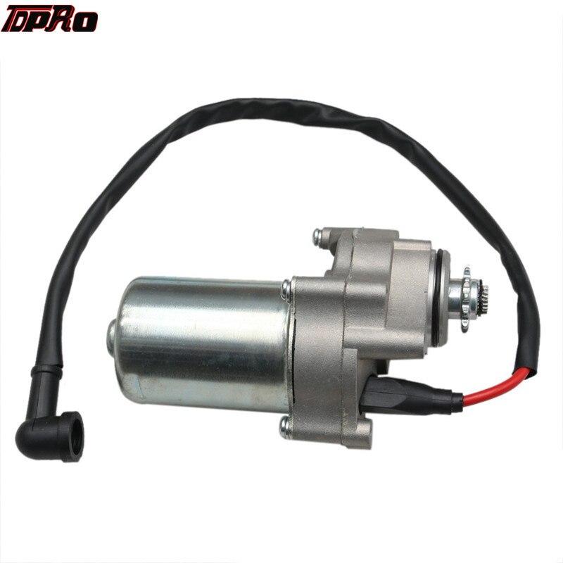 TDPRO Stud inferior arranque eléctrico Motor de arranque para 50cc 90cc 110cc 125cc Quad bici de la suciedad ATV Go Kart Buggy Pitbike Accesorios