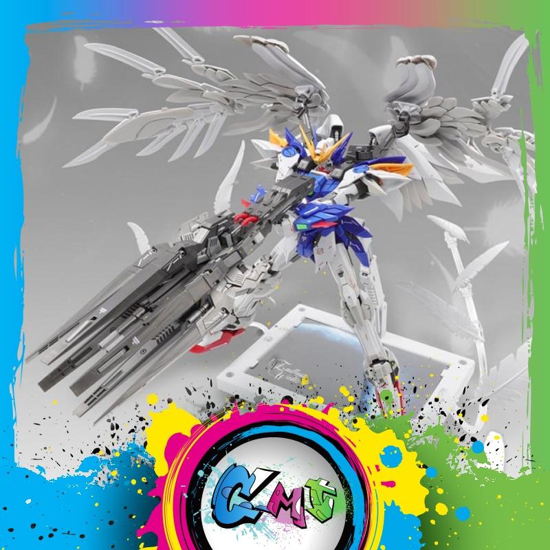 CMT en Stock modelo corazón Super Nova MG 1/100 XXXG-00W0 ala cero de Mo Kai de traje móvil Anime modelo Kit