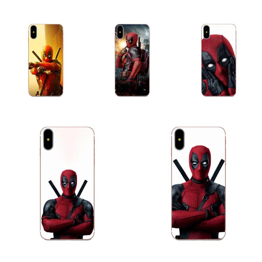 Héroe deadpool para Galaxy J1 J2 J3 J330 J4 J5 J6 J7 J730 J8 2015, 2016, 2017, 2018 Mini Pro piel fina funda de móvil PC