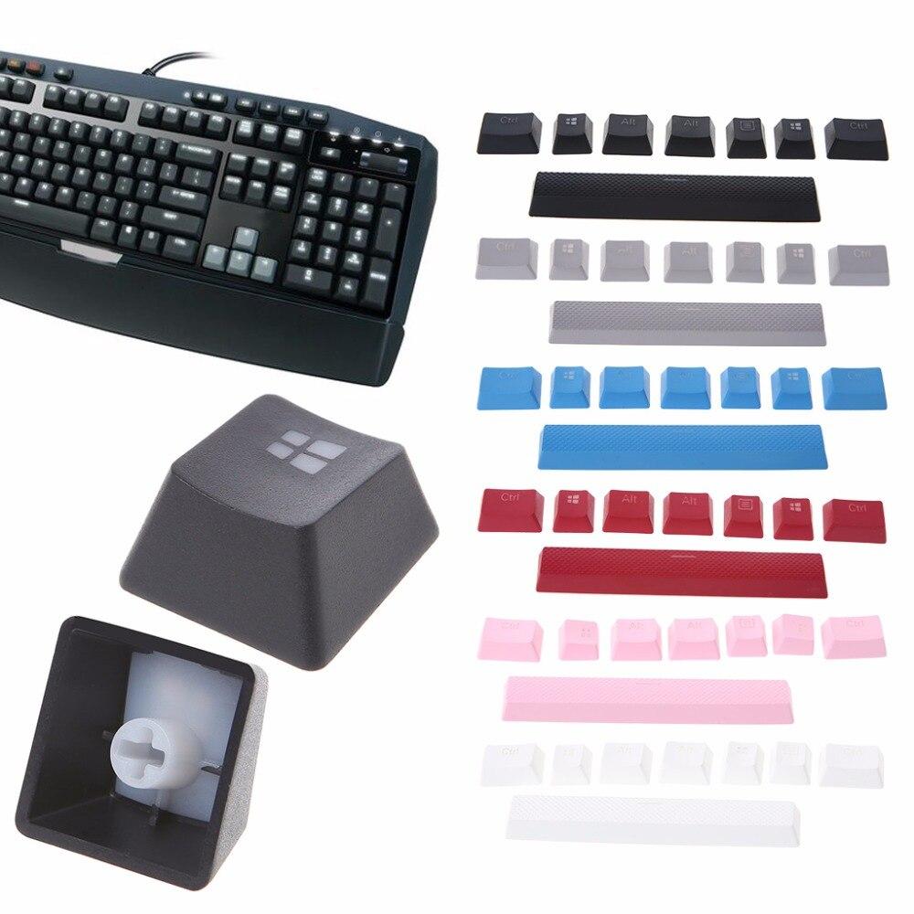 8 teclas PBT, doble retroiluminado, teclas de teclado, teclas para Corsair STRAFE K65 K70 G710, Teclado mecánico para jugar, nuevo C26
