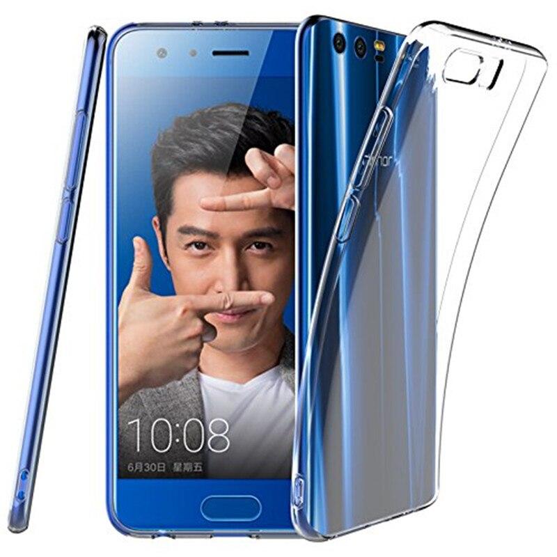 Weiche Transparente Tpu Silikon Fall Für Huawei Ehre 9 STF-AL00 STF-AL10 STF-L09 Zurück Abdeckung 5,15 inch Fall Für Huawei Honor9 fall