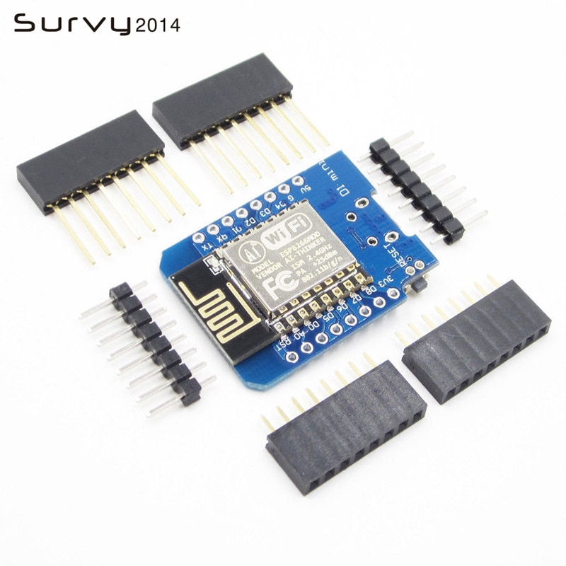 1PCS D1 mini  - Mini NodeMcu 4M bytes Lua WIFI Internet of Things development board based ESP8266 by WeMos diy electronics