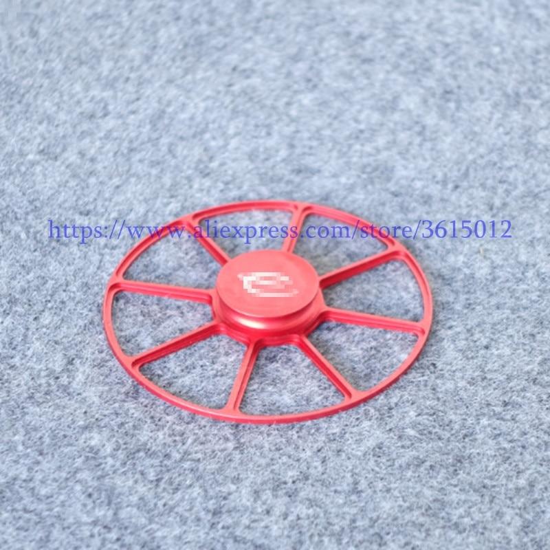 LP disco giratorio estabilizador peso récord rojo Color Aluminio CNC Ref para EMC-1 SPIDER para CDM2/CDM3/CDM4