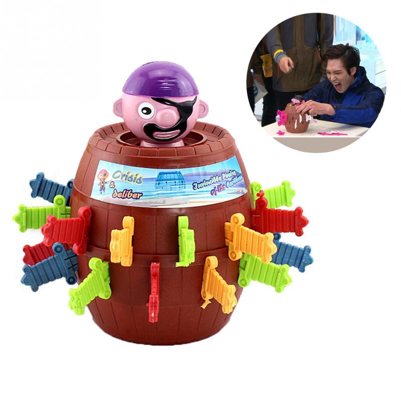 Детский Забавный гаджет пират баррель игра игрушки для детей Lucky Stab Pop Up Игрушка