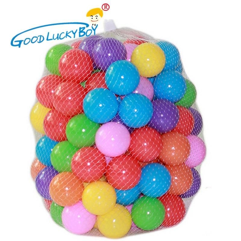 50/100 шт Экологичные Красочные Мягкие пластиковые шары для воды в бассейне океана, детские забавные игрушки, воздушный шар для снятия стресса...