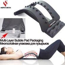 Hopegoing dos Massage civière étirement magique soutien lombaire taille cou Relax Mate dispositif colonne vertébrale soulagement de la douleur chiropratique