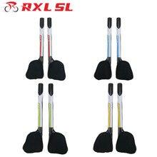 RXL SL vélo guidon repose guidon TT Triathlon vélo Extender vert carbone Aero barres 3K brillant guidon Triathlon