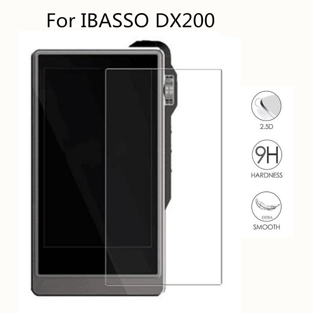 9H Премиум защитное закаленное стекло для IBASSO DX200 Защита от царапин Передняя пленка