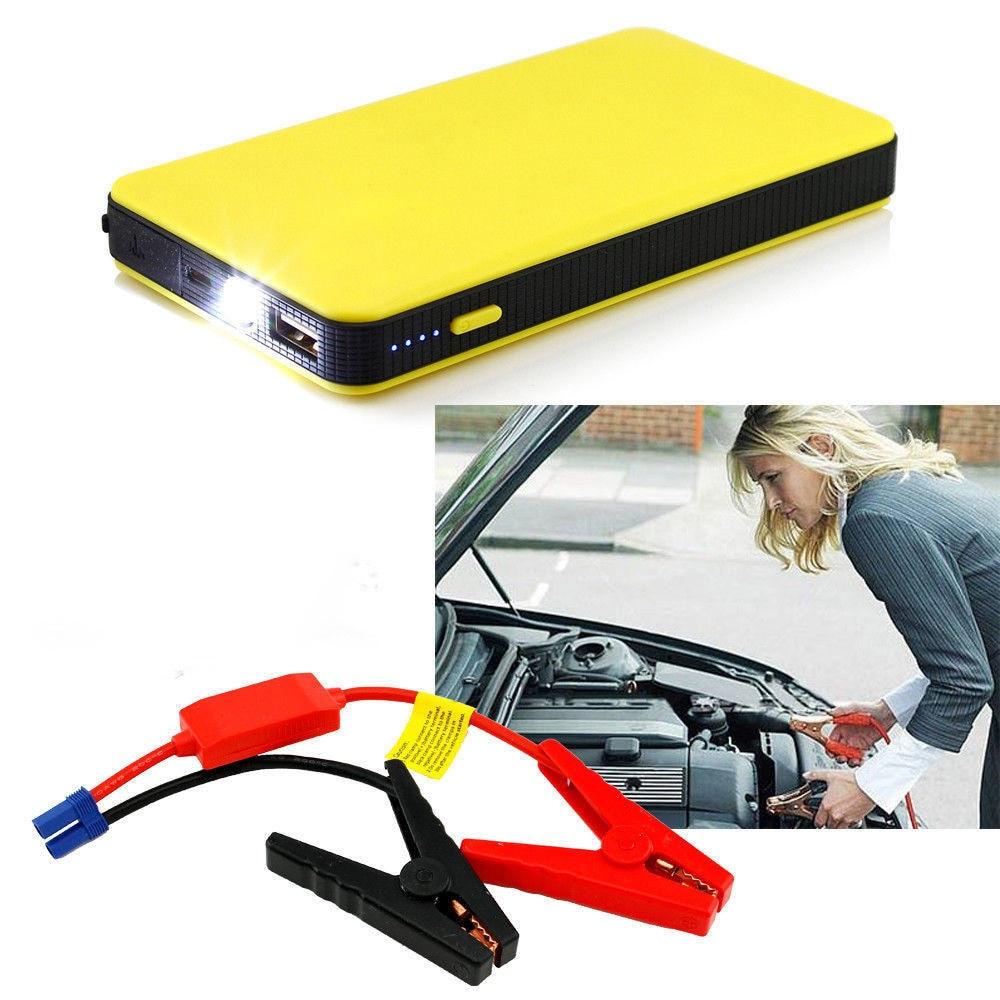 12V 8000mah Car Jump Starter Portable Car Starter Power Bank Auto Engine Emergency Battery Charger Power Bank Booster Battery