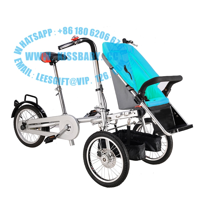 Трехколесная складная Коляска-велосипед для мамы и ребенка taga nucia bike
