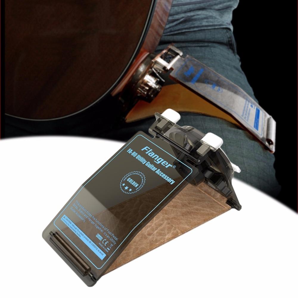 Flanger FA-80 accesorio práctico para guitarra, soporte para el cuello con correa para la guitarra folclórica clásica