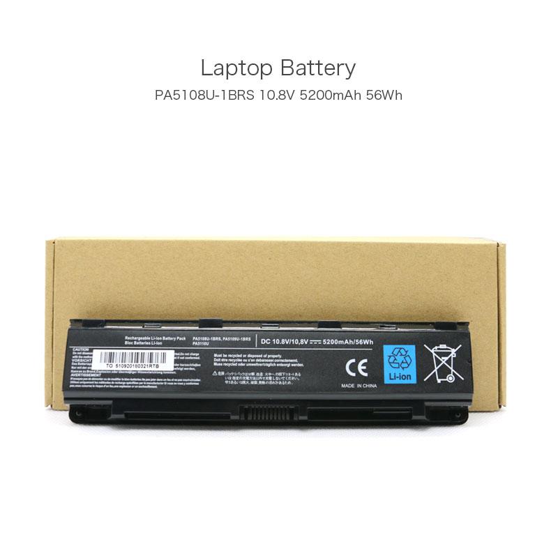 10,8 V 5200mAh 56Wh PA5108U-1BRS portátil batería para TOSHIBA Satellite L305 L505 A200 A205 A300 A305 A505 L455 L500 L505D