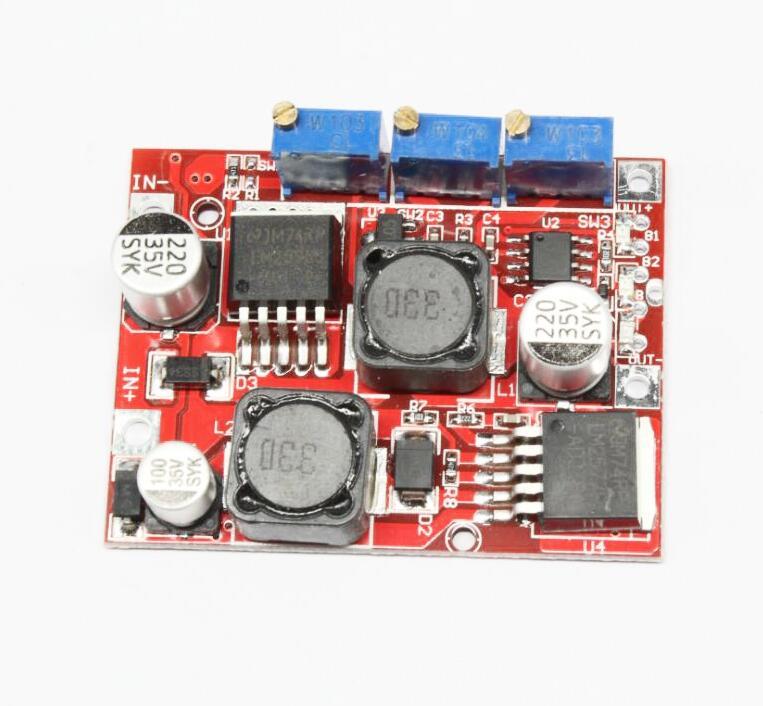 Módulo de fuente de alimentación de voltaje LM2596 LM2577 de 1 Uds de energía Solar