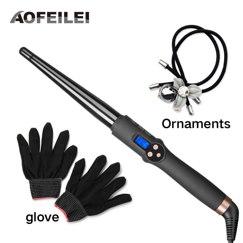 AOFEILEI New Arrival hair tools professional Hair Curling Iron Hair waver Ceramic hair curler Curling Wand Fashion curl iron недорого