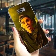 Cover for Samsung A7 Cases A8 A3 A6 Plus A5 A9 A10 A20 A40 A50 A70 Justin Bieber Hard Phone Case for Galaxy A30