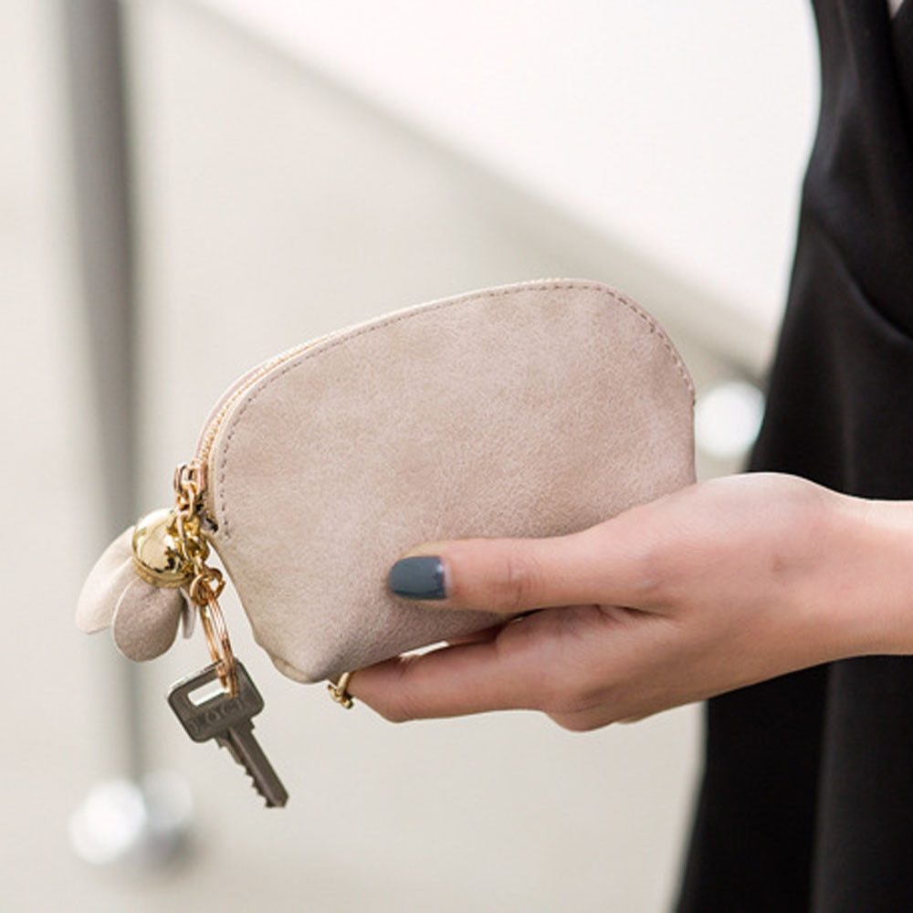 Лидер продаж мини кошелек для монет милый маленький женский кожаный кошельки