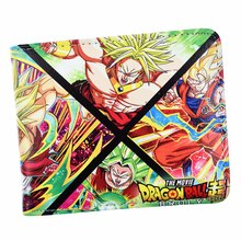 ¡Producto en oferta! Cartera de dibujos animados de Anime Dragon Ball, billeteras súper cortas, monedero genial Dragon Ball Z, billetera para jóvenes