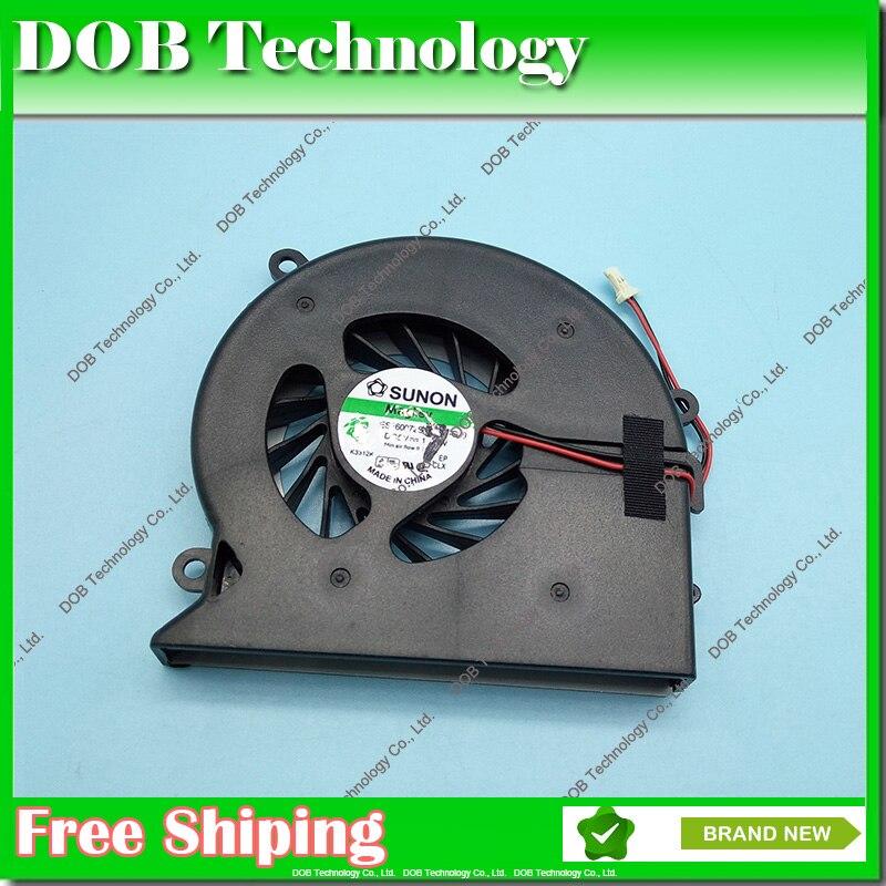 Original ventilador de CPU para HP pabellón DV7 DV7-1000 DV7-1100 DV7-1200 dv7-1245dx portátil ventilador AB7805HX-EB1... bsb0705hc 7k72