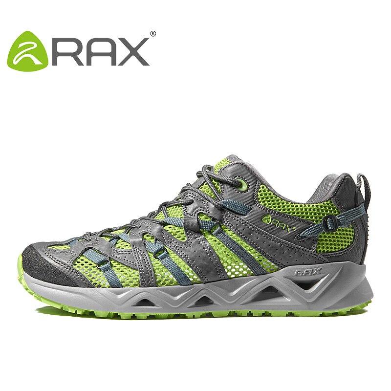Zapatos de Trekking Rax transpirables para hombre y mujer, zapatos de senderismo ligeros de verano para hombre, zapatos de pesca para caminar al aire libre para hombre, zapatos de mujer