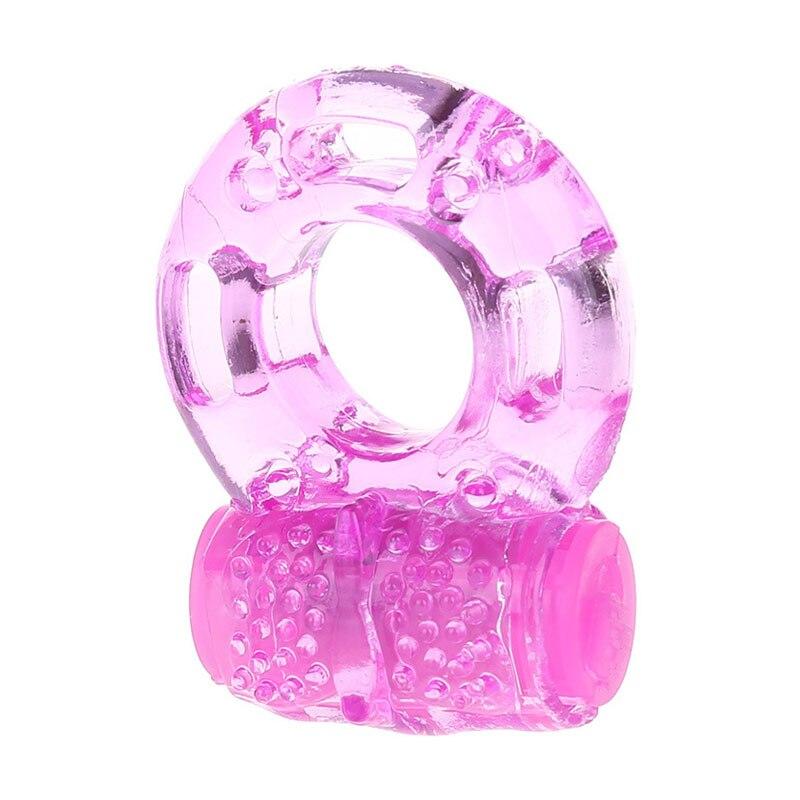 Anillo vibrador para el pene condones de anillo para hombre Cockring juguetes para adultos extensor de pene condón realista vibración anillo sexual para el pene tienda