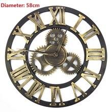 Reloj de pared grande reloj Saat Duvar Saati Relojes de pared Digital de madera Horloge Murale reloj de parede orologo da parete decoratio
