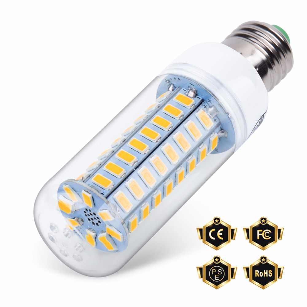 Gu10 Led 220v Lamp E27 Corn Bulb E14 Led Candle Light Bulb 5730 Ampolletas Led Casa 24 36 48 56 69 72leds Energy Saving Lighting E27 Led Corn E27 Led Corn Bulbled Corn Bulb Aliexpress