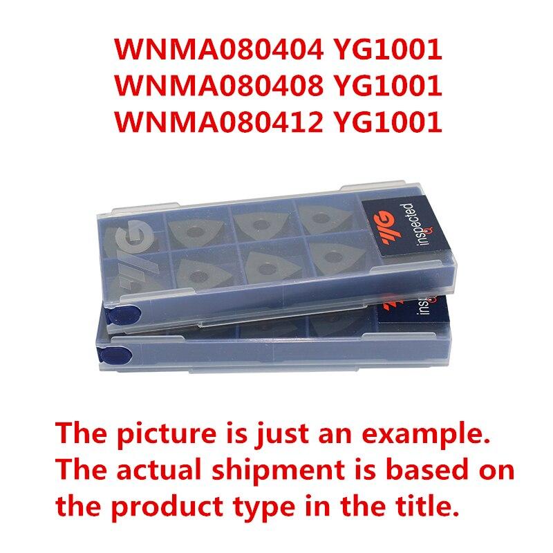 WNMA080404 YG1001/WNMA080408 YG1001/WNMA080412 YG1001 كوريا YG كربيد إدراج للحديد الزهر استبدال ميتسوبيشي UC5115