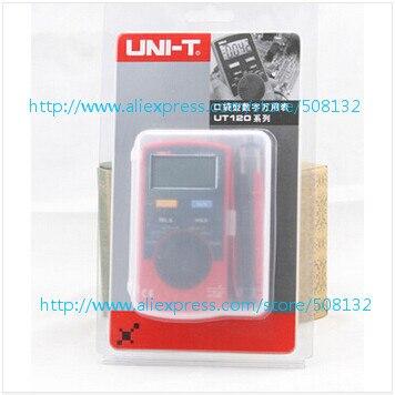 UNI-T UT120C אנלוגי Multimeters Tester מיני מקצועי כיס גודל דיגיטלי Multimetro LCR מד מד זרם Multitester