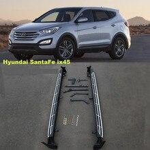 Pour Hyundai Santa Fe ix45 2013-2017 marchepieds Auto côté marchepied pédales de haute qualité flambant neuf conception originale Nerf barres