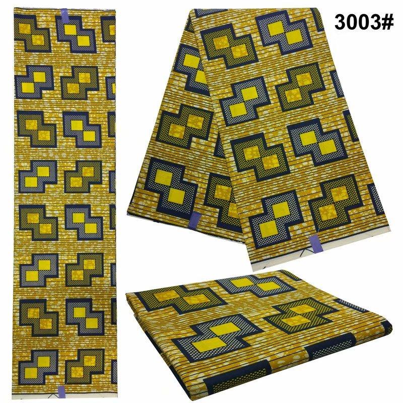 Nigeria fashion java wax fabrics for woman sewing 6 yards ankara prints african Ankara wax batik fabric 100% cotton!DF-4390