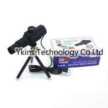 1-70X Zoom 2.0MP longue Distance USB numérique télescope caméra pour Surveillance ponctuelle Surveillance de la maison vidéo enregistrement vidéo 13 langues
