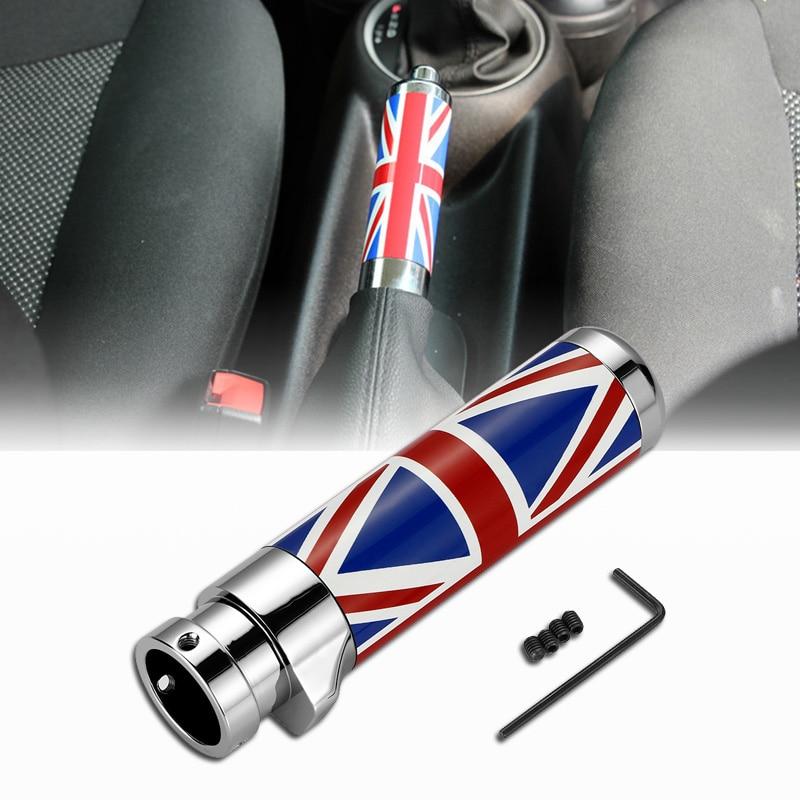 Carbon Fiber car modification handbrake Black/Red Union Jack Checkered For BMW mini cooper clubman R55 R56 interior accessories enlarge
