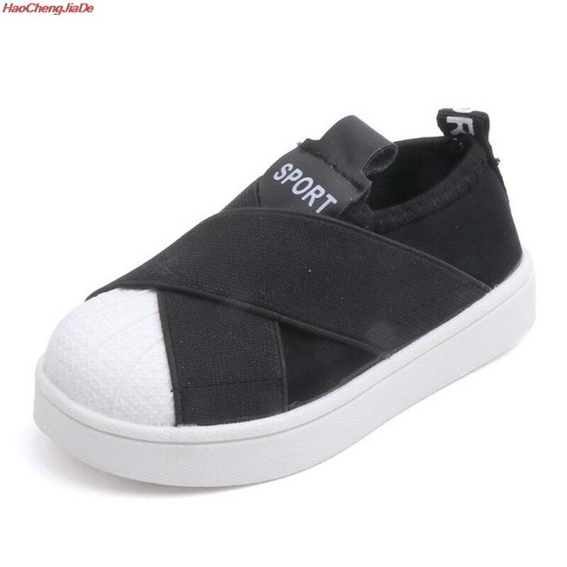 Zapatos antideslizantes para niños, zapatillas de fondo suave para bebés, zapatillas planas informales, zapatos de talla 21-30, zapatos deportivos para niñas y niños