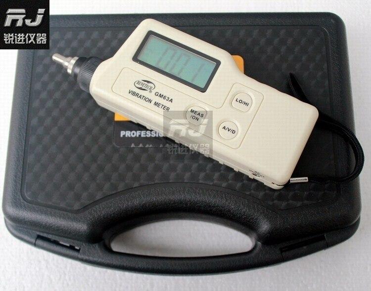 (Стандартный интеллект) GM63A/цифровой Виброметр/сейсмометр/Быстрое измерение выборки