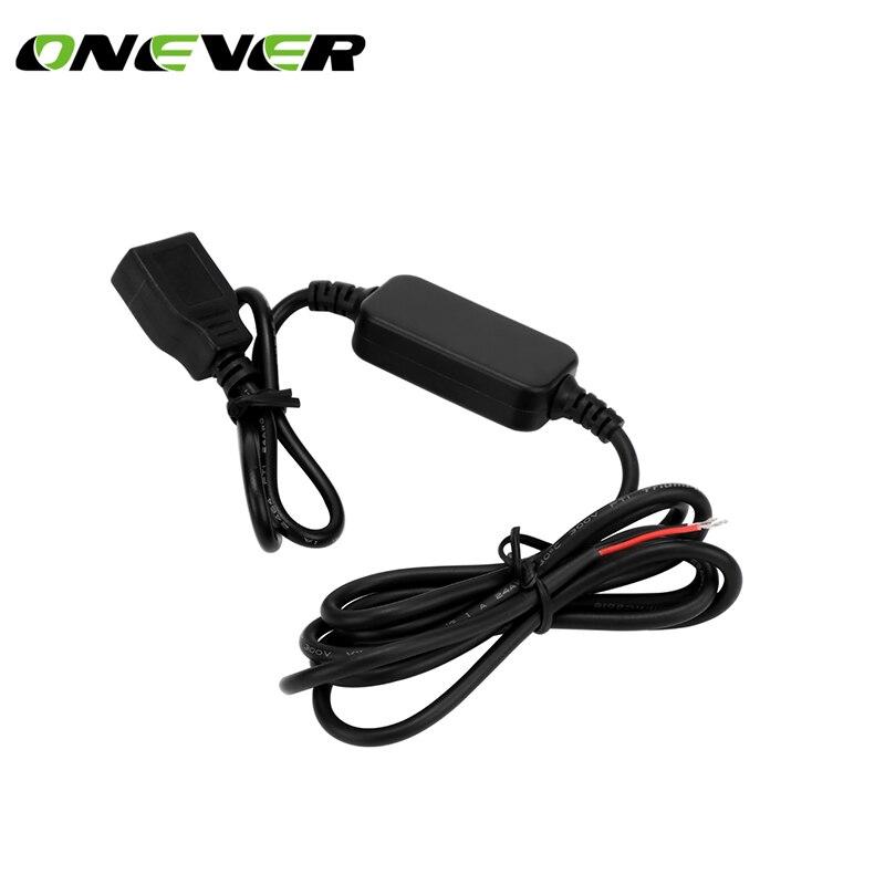 Convertidor de CC para coche con USB, módulo Buck, cc 12V a 5V 3A, Cargador USB, regulador de voltaje descendente