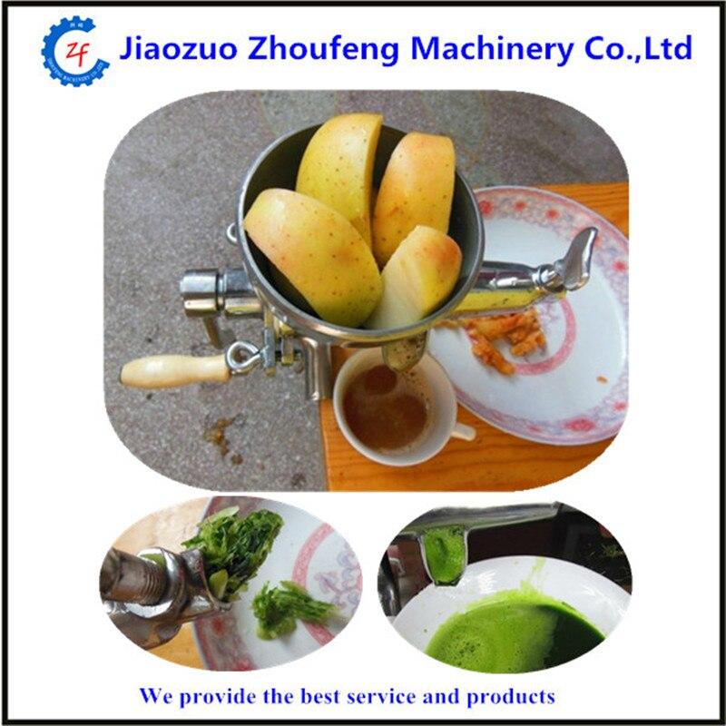 304 stainless steel wheatgrass manual juicer fruit vegetable juicing machine