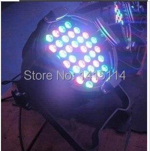 Etapa Guangzhou luz 36 Uds 3W RGBW LED PAR puede escenario iluminación para uso interior carcasa de aluminio dj luces