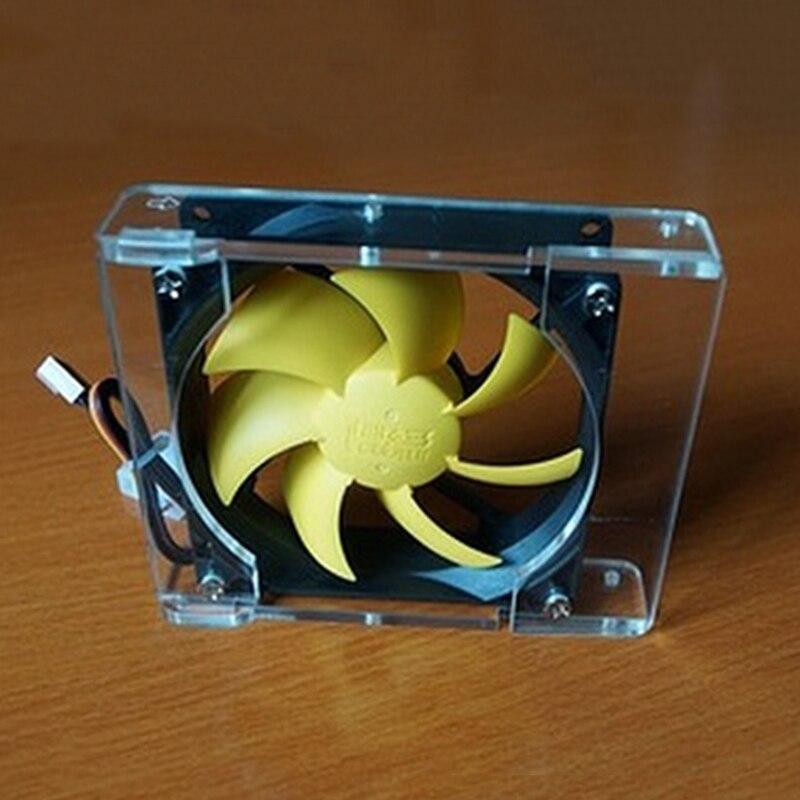 حار esloth الهيكل الرئيسي الكمبيوتر المكتبي f35 3.5 بوصة القرص الصلب المشجعين المبرد تبريد رف 90 ملليمتر pc شفاف الصلب بت