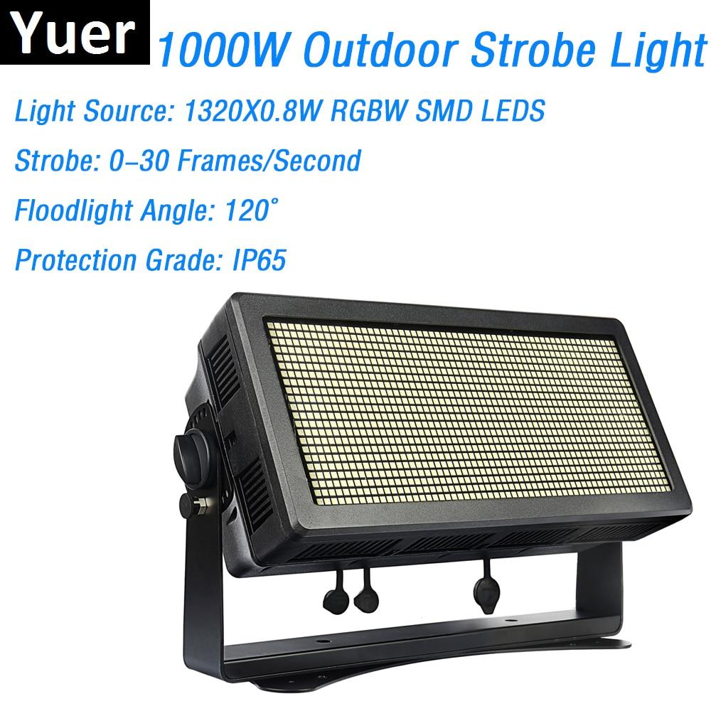 Waterproof Strobe Lights High Power 1000W RGBW 4IN1 LED DMX512 Flash IP65 Dj Lighting Equipments