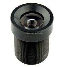 Filtre à bandeau IR 2.1mm 850nm   Objectif à grand Angle M12 à mise au point fixe à 150 degrés lentille de vidéosurveillance pour caméra CCTV IP / USB