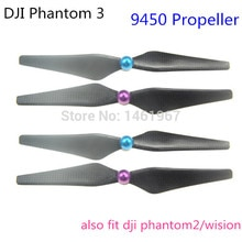 Hot Sale Carbon Fiber 9450 Propeller CW CCW Self-locking Prop for DJI Phantom 3(2 pairs/lot) free an