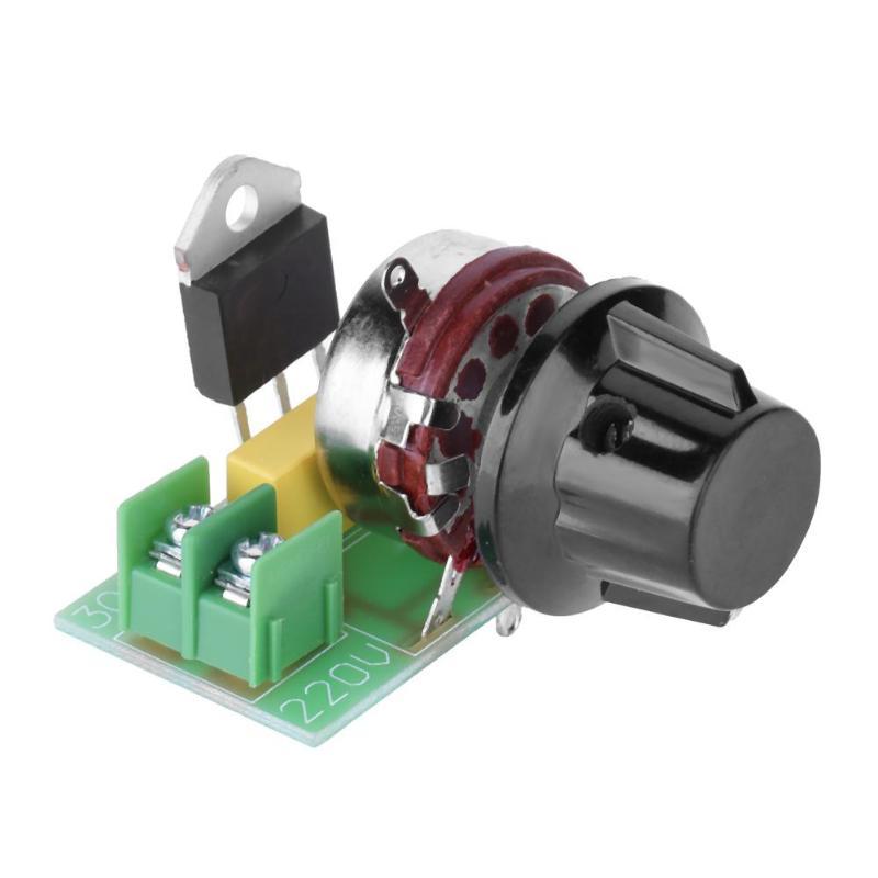 Regulador de voltaje electrónico controlado por silicio de 3000W, regulador de tiristor, regulador de temperatura de Control de velocidad