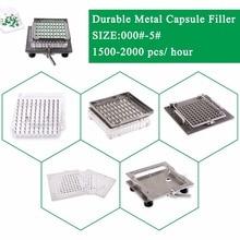 Size 1 CapsulCN-100M Semi-Automatic capsule filler/Capsule Filling Machine/capsule encapsulation