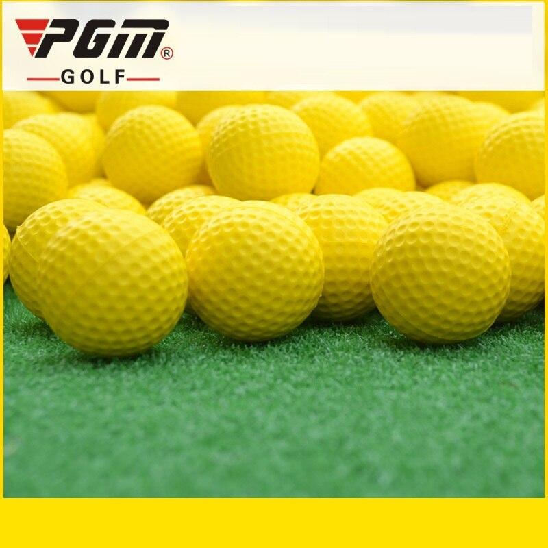 Pgm 1 uds, pelota de entrenamiento de Golf suave Flexible, ligera, Bola de entrenamiento de Golf, ayuda para entrenamiento deportivo D0718