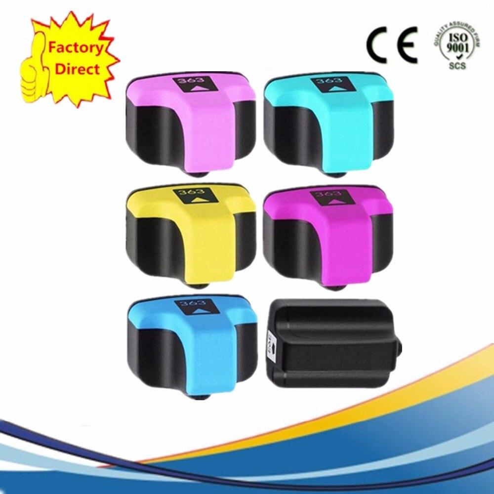 Reemplazo de cartuchos de tinta para HP363 XL HP363 363XL PhotoSmart 3310 3310xi 3313, 7180, 8200, 8230, 8238, 8250, 8253 de inyección de tinta